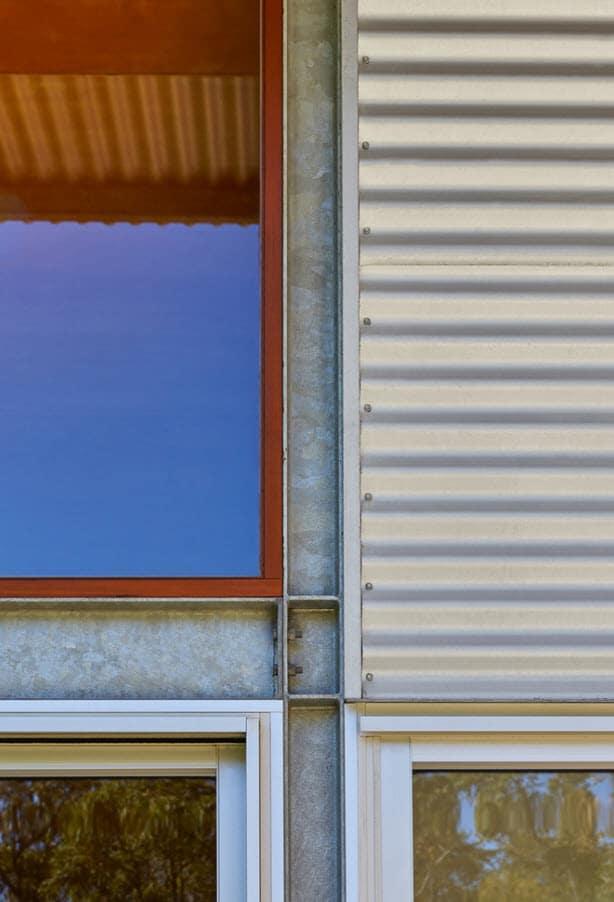 Estructura metálica casa de campo