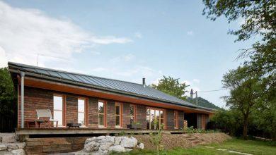 Photo of Modelo de casa rural destaca por sus acabados rústicos y una estructura moderna