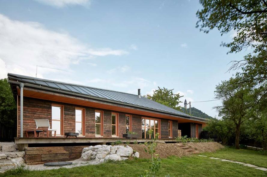 Modelos de casa de madera rural
