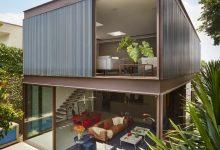 Photo of Diseño de casa con estructura metálica, armoniosa y resistente construcción