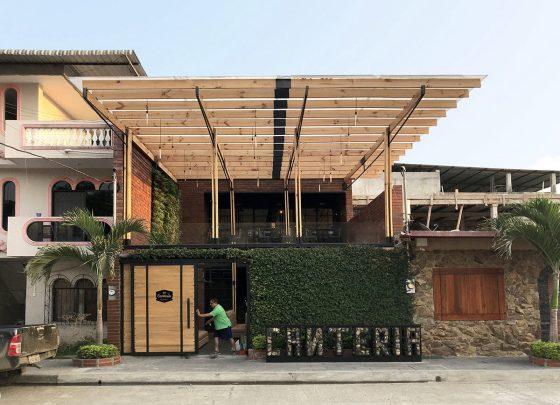 Diseño de restaurante urbano