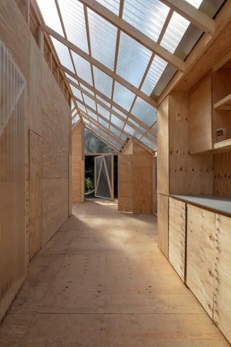 Pasadizo casa prefabricada