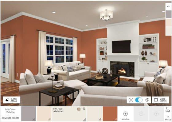 Aplicaciones para pintar una casa