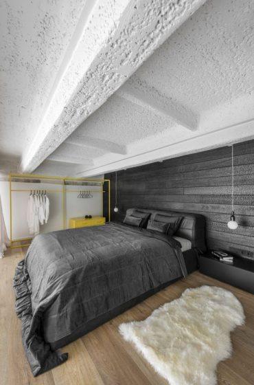 Dormitorio de loft