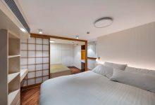 Photo of Diseño de apartamento dúplex de estilo oriental