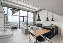 Photo of Un Loft moderno basado en una edificación industrial
