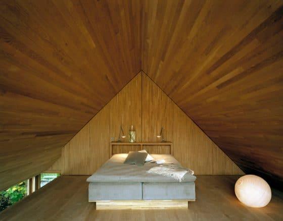 Dormitorio en ático