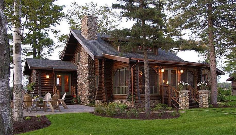 Casa rural rústica