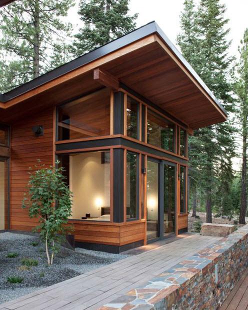 Casa moderna de campo