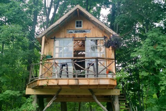 DIY ağaç ev