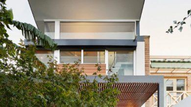 Photo of Diseño de casa moderna con patio interior como eje central
