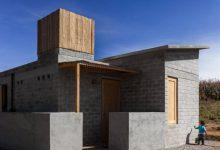 Photo of Casa pequeña económica hecha con bloques de adoblock (tierra y cemento)