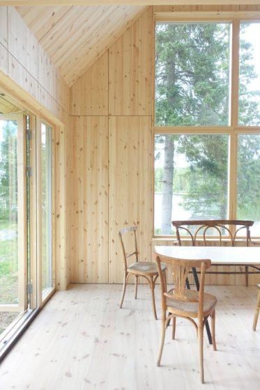 Interior de pino