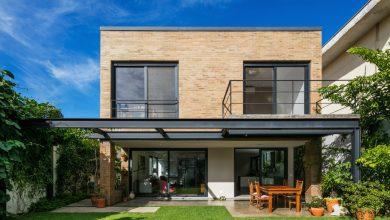 Photo of 2 Ideas de casas de dos pisos, ladrillo y concreto como materiales de construcción