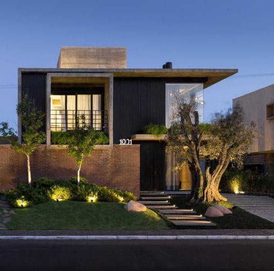 Plano-fachada-casa-moderna