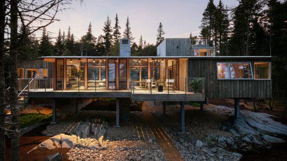 Diseño de casa de madera
