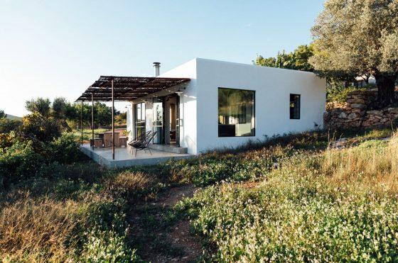 Casa campo moderna rústica