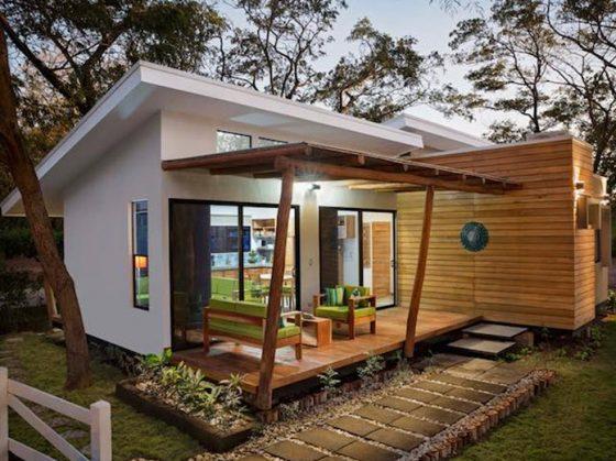 Casa pequeña de campo económica