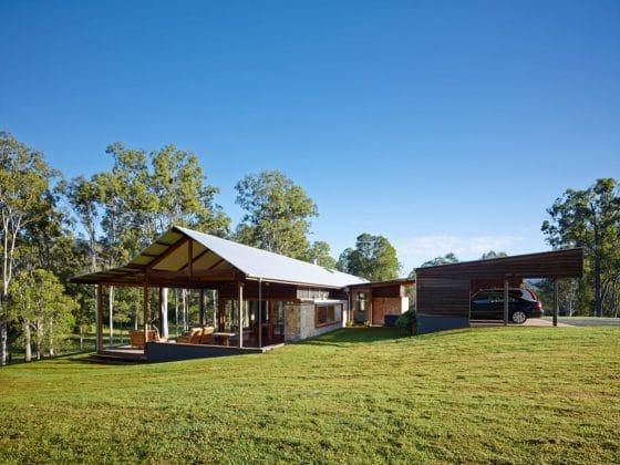 Estilo moderno casa campo
