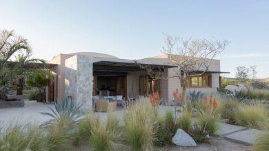 Photo of Hermosa casa de campo construida con tierra apisonada