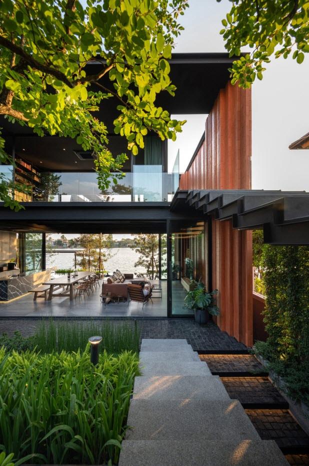 Diseño de escaleras interiores de concreto y acero