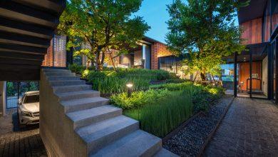 Photo of Diseño de casa moderna con arquitectura paisajista