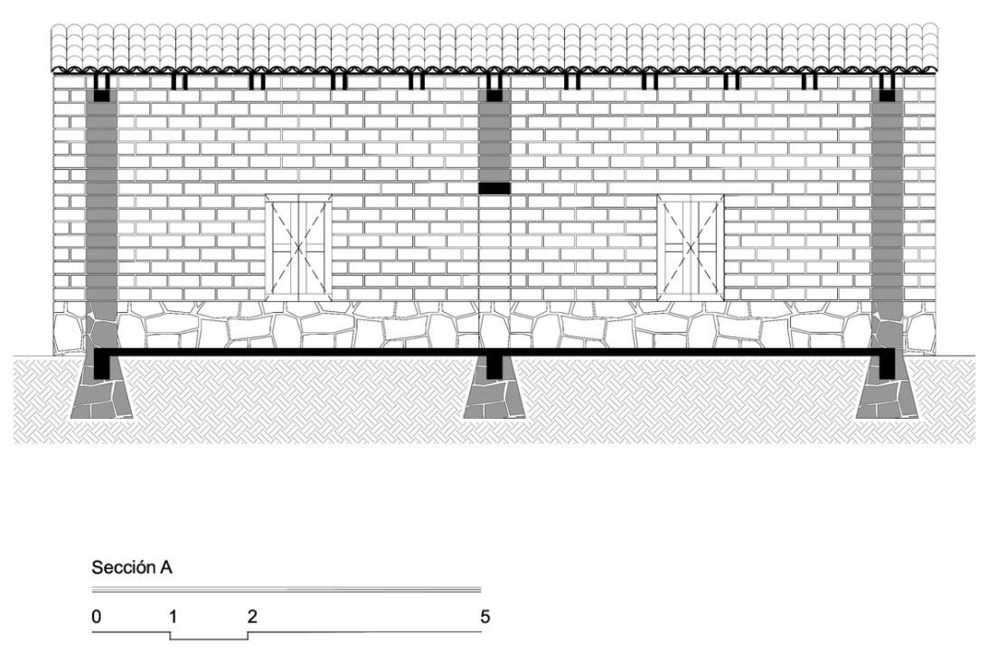 Plano-terreno-rectangular