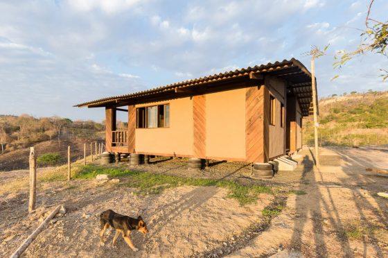 Construcción de casa rural