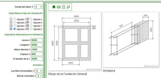 Aplicación de calculadora de construcción para Android y vía web