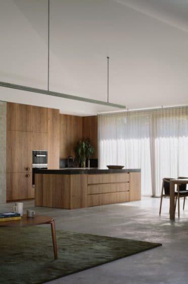Diseño de muebles de cocina de madera